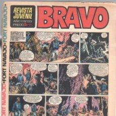 Tebeos: BRAVO Nº 29 EDI. BRUGUERA 1968 -,MICHEL TANGUY UDERZO,GRAND PRIX, BLUEBERRY. Lote 34928388