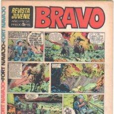 Tebeos: BRAVO Nº 31 EDI. BRUGUERA MICHEL TANGUY UDERZO, BLUEBERRY GIR,DOC FORAN,ALFONSO FIGUERAS TOPOLINO,. Lote 34928483