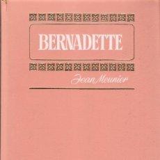 Tebeos: BERNADETTE - JEAN MEUNIER - SERIE MUJERCITAS - HISTORIAS COLOR - BRUGUERA - 1973. Lote 34933595
