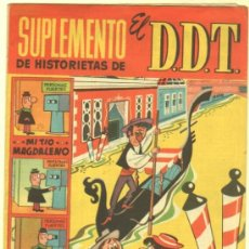 Tebeos: SUPLEMENTO DE HISTORIETAS DEL DDT Nº 5 EDI. BRUGUERA - CON EL JABATO EN PÁGINA CENTRAL. Lote 34992447