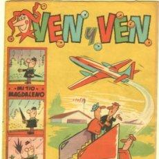Tebeos: VEN Y VEN Nº 10 EDI. BRUGUERA 1959 CON EL JABATO EN DOBLE PÁGINA CENTRAL. Lote 35001123