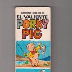 Tebeos: EL VALIENTE PORKY PIG HEROES INFANTILES BRUGUERA 1ª EDICIÓN ENERO 1969. Lote 35013060