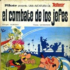 Tebeos: ASTERIX EL COMBATE DE LOS JEFES , PILOTE, BRUGUERA 1969 , TAPA DURA, ORIGINAL, H. Lote 35098771