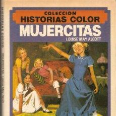 Tebeos: MUJERCITAS - LOUISE MAY ALCOTT - Nº 8 - COLECCION HISTORIAS COLOR - BRUGUERA - 1983. Lote 35170010