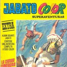 Tebeos: JABATO COLOR SUPERAVENTURAS EXTRA Nº 6 TERCERA ÉPOCA. Lote 35184745