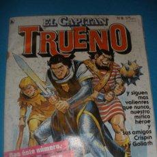 Tebeos: TEBEO CAPITAN TRUENO NUM. 8 EDITORIAL BRUGUERA 1986 - EL CHACAL DE BIR JERARI.. Lote 35208593