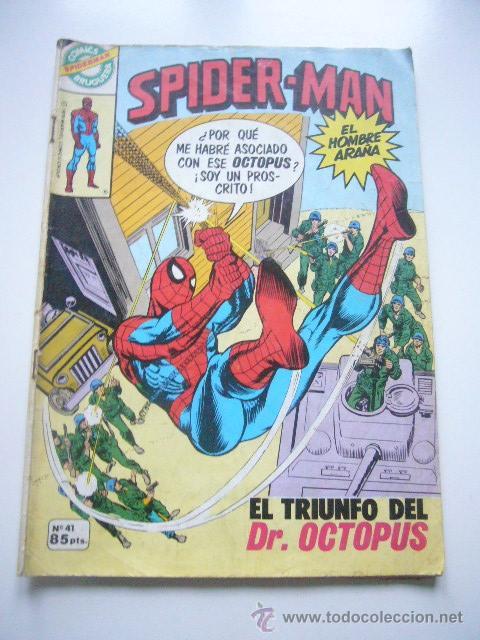 SPIDERMAN Nº 41 MARVEL BRUGUERA .............C31 (Tebeos y Comics - Bruguera - Otros)
