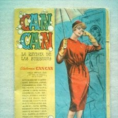 Tebeos: CAN CAN Nº 57 BRUGUERA 1959. Lote 35222050