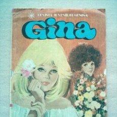 Tebeos: GINA Nº 9 BRUGUERA 1978 POSTER LAS BACCARA. Lote 35223017