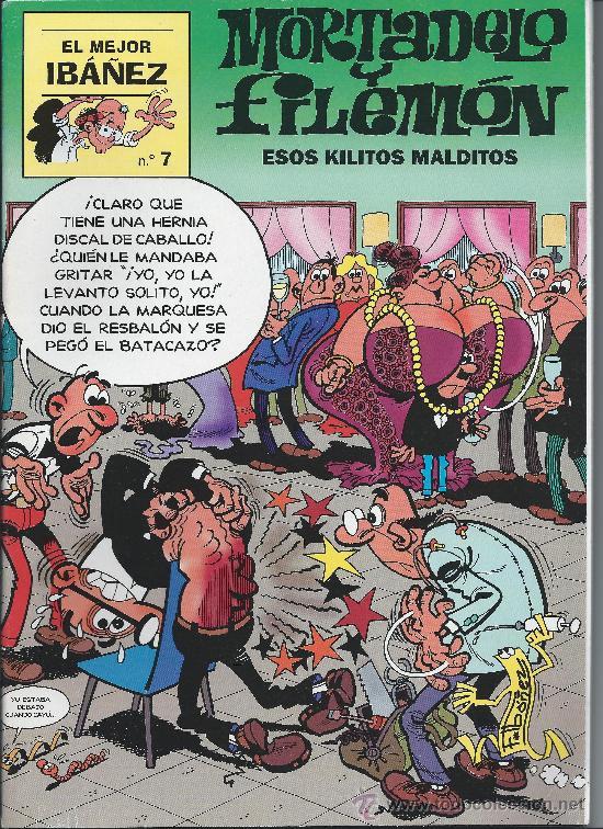 MORTADELO Y FILEMÓN Nº 7 F IBAÑEZ V (Tebeos y Comics - Bruguera - Mortadelo)
