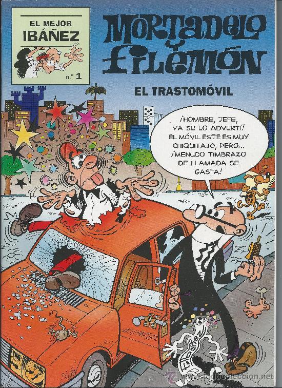 MORTADELO Y FILEMÓN Nº 1 V (Tebeos y Comics - Bruguera - Mortadelo)