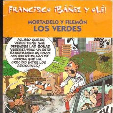 Tebeos: OLE MORTADELO Y FILEMON. Lote 35340003