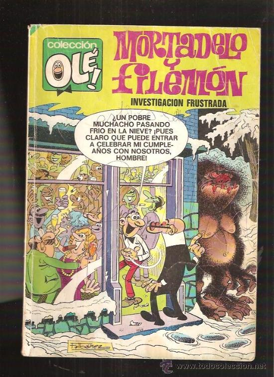 OLE MORTADELO Y FILEMON 111 (Tebeos y Comics - Bruguera - Mortadelo)