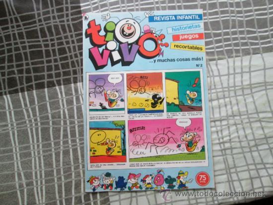 TIO VIVO Nº 2 TERCERA EPOCA (Tebeos y Comics - Bruguera - Tio Vivo)
