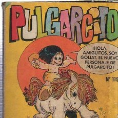 Tebeos: PULGARCITO, BRUGUERA, 115, 100 PÁGS, 13 POR 18CM. Lote 35424008