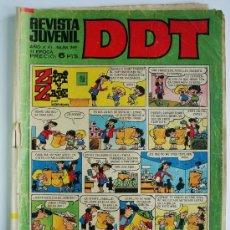 Tebeos: DIN DAN Nº 249 - AÑO IV - BRUGUERA 1968. Lote 35443323