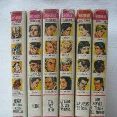 Tebeos: AÑO 1966 - 69 - LOTE 6 COLECCION HISTORIAS SELECCION BRUGUERA SISSI HEIDI ALICIA - 1ª EDICION. Lote 35462706