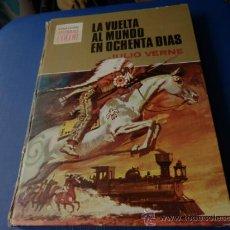 Tebeos: COL. HISTORIAS COLOR SERIE JULIO VERNE NUM. 3: LA VUELTA AL MUNDO EN OCHENTA DIAS 1ª. EDICION 1972 . Lote 35603115