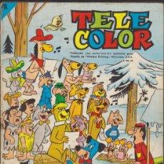 Tebeos: TELE COLOR. ALMANAQUE PARA 1965.. Lote 28715498