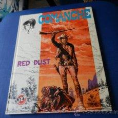 Tebeos: COMANCHE RED DUST NUM. 1- COLECCION JET NUM. 4 - BRUGUERA 1ªEDICION 1983 TAPA DURA . Lote 35707178