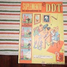 Giornalini: SUPLEMENTO DE HISTORIETAS EL DDT Nº 2 AVENTURA DEL JABATO DARNIS. Lote 35765519