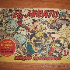 Tebeos: JABATO Nº 49 AÑO 1958 ORIGINAL EDITORIAL BRUGUERA . Lote 35850004