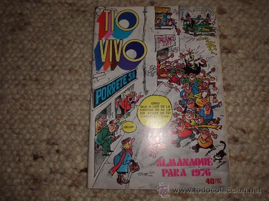 TIO VIVO ALMANAQUE 1976 JOHN HAZARD (Tebeos y Comics - Bruguera - Tio Vivo)