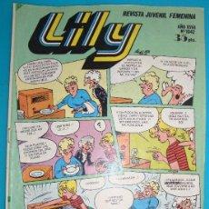 Tebeos: LILY REVISTA JUVENIL FEMENINA, AÑO XVIII Nº 1042, POSTER DE PROMOCION REVISTA ESTHER. Lote 35866171