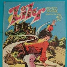 Tebeos: LILY REVISTA JUVENIL FEMENINA, AÑO XIX Nº 1048 EMMA POSTER DE GREG EVIGAN - BILLY JOE Y SU MONO. Lote 35866722