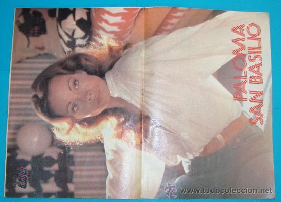 Tebeos: LILY REVISTA JUVENIL FEMENINA, AÑO XIX Nº 1068 EMMA POSTER DE PALOMA SAN BASILIO - Foto 3 - 143342722