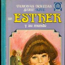 Tebeos: ESTHER Y SU MUNDO (FAMOSAS NOVELAS, SERIE AZUL VOLUMEN II, TAPA DURA, ). Lote 37294660