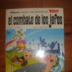Tebeos: ASTERIX Y OBELIX, EL COMBATE DE LOS JEFES, 1ª EDICIÓN DE EDITORIAL BRUGUERA, AÑO 1969,. Lote 35944016