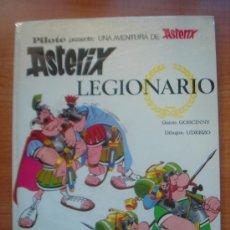 Tebeos: ASTERIX Y OBELIX, ASTERIX LEGIONARIO, 1ª EDICIÓN DE EDITORIAL BRUGUERA, AÑO 1969,. Lote 35960312