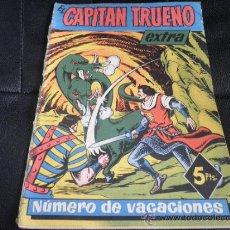 Tebeos: EL CAPITAN TRUENO EXTRA VACACIONES 1958 ORIGINAL BRUGUERA. Lote 35993936