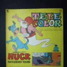 Tebeos: TEBEO TELE COLOR EDITORIAL BRUGUERA AÑO I NUMERO 11 - 25 MARZO 1963 - HANNA BARBERA. Lote 35993002