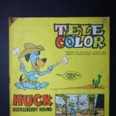 Tebeos: TEBEO TELE COLOR EDITORIAL BRUGUERA AÑO I NUMERO 17 - 6 MAYO 1963 - HANNA BARBERA. Lote 35993299