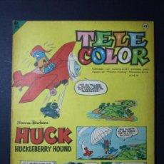 Tebeos: TEBEO TELE COLOR EDITORIAL BRUGUERA AÑO I NUMERO 41 - 21 OCTUBRE 1963 - HANNA BARBERA. Lote 35994233