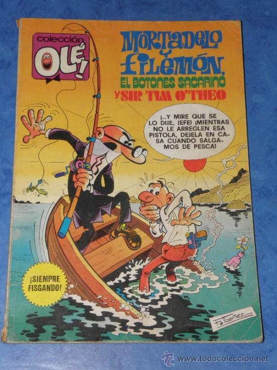 MORTADELO Y FILEMON SACARINO Y SIR TIM Nº 171 EDITORIAL BRUGUERA 1979 (Tebeos y Comics - Bruguera - Ole)