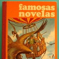Tebeos: FAMOSAS NOVELAS VOLUMEN V AÑO 1975, 3900 ILUSTRACIONES A TODO COLOR. Lote 171530464