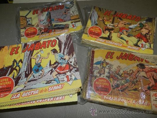 (M-3) EL JABATO DEL NUM 1 AL 328 (FALTAN 4 NUMEROS INTERCALADOS ) EDT BRUGUERA 1958, 1 EDC. (Tebeos y Comics - Bruguera - Jabato)