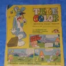 Tebeos: TELE COLOR AÑO III Nº 144 EDITORIAL BRUGUERA. Lote 36152518
