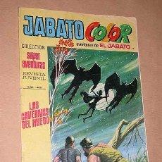 Tebeos: JABATO COLOR Nº 94. PRIMERA ÉPOCA. LAS CAVERNAS DEL MIEDO. BRUGUERA, 1971. BERNAL, MORA, DARNÍS.+++. Lote 36405797