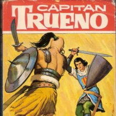 Tebeos: LOS BÁRBAROS AZULES.CAPITÁN TRUENO. COLECCIÓN HÉROES. EDITORIAL BRUGUERA, 1ª EDICIÓN. MAYO 1964.. Lote 36316427