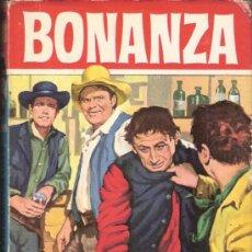 Tebeos: BONANZA.AVENTURA EN CARSON CITY. COLECCIÓN HÉROES. EDITORIAL BRUGUERA, 3ª EDICIÓN. MAYO 1966.. Lote 36317479