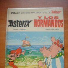 Tebeos: ASTERIX Y OBELIX, ASTERIX Y LOS NORMANDOS, 1ª EDICIÓN DE EDITORIAL BRUGUERA, AÑO 1969,. Lote 36297672