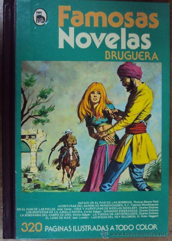 FAMOSAS NOVELAS TOMO XII. BRUGUERA 1982 3ª ED (Tebeos y Comics - Bruguera - Otros)