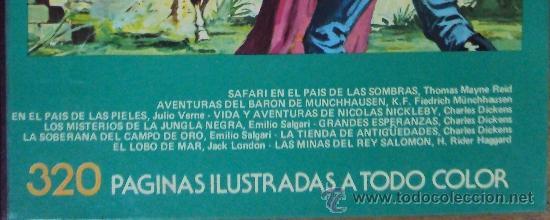 Tebeos: FAMOSAS NOVELAS TOMO XII. BRUGUERA 1982 3ª ED - Foto 5 - 36355930