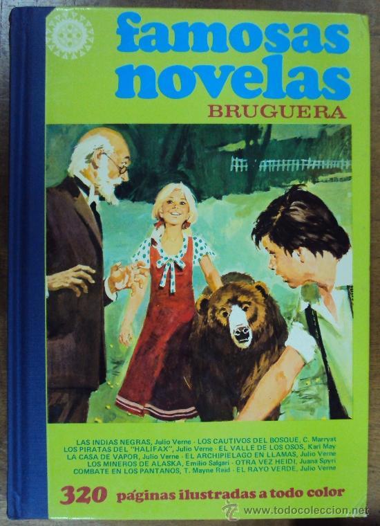 FAMOSAS NOVELAS TOMO XI. BRUGUERA 1982 2ª ED (Tebeos y Comics - Bruguera - Otros)