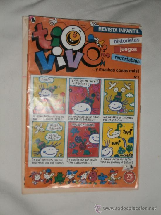 REVISTA INFANTIL TIOVIVO Nº 1 (Tebeos y Comics - Bruguera - Tio Vivo)