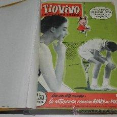Tebeos: (M) TIO VIVO AÑO II 1958 , DEL NUM 51 AL NUM 100 + ALMANAQUE 1959, FALTAN LOS NUM 72 - 73, . Lote 36370980